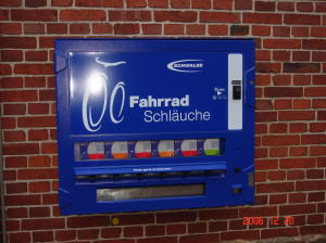 Automat für Fahrradschläuche
