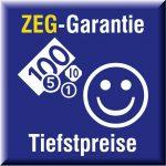 ZEG-Garantie Tiefstpreise